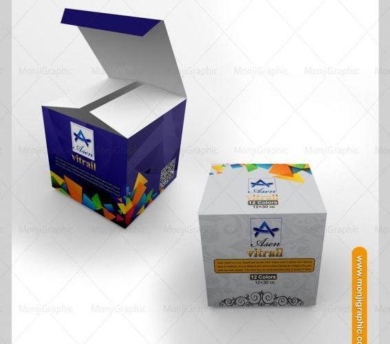 طراحی و چاپ بسته بندی رنگ هنری